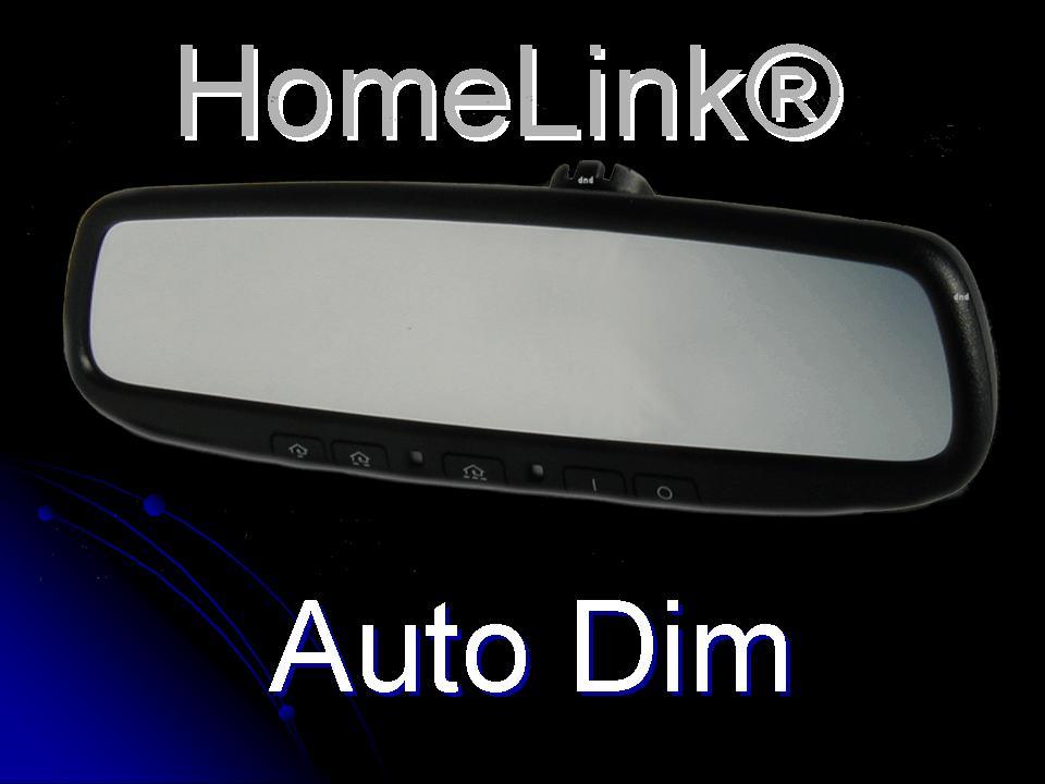 Gentex GENK45AMB5 Plug /& Play 2016-2018 Toyota Tacoma Auto-Dim Compass HomeLink